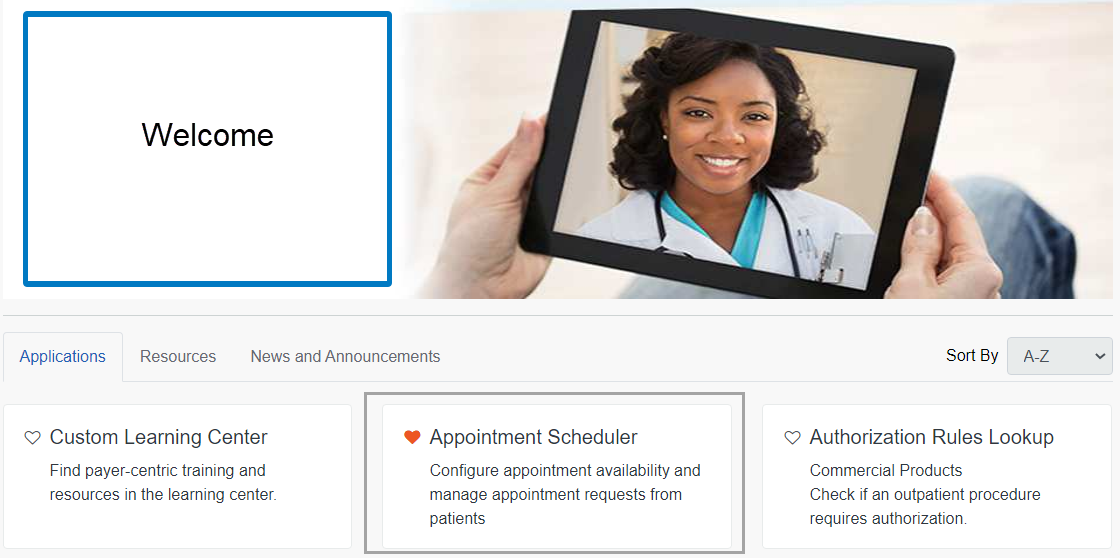 Availity Appointment Scheduler
